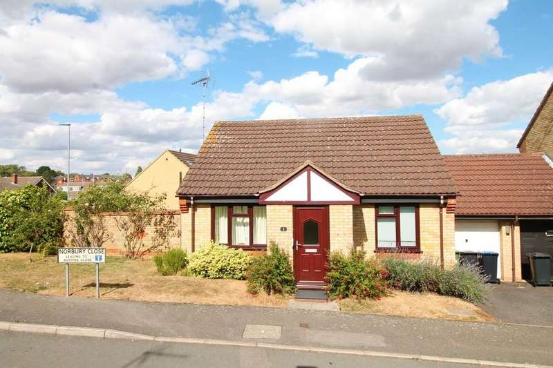 2 Bedrooms Detached Bungalow for sale in Norbury Close, Market Harborough