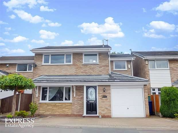 3 Bedrooms Detached House for sale in Cedar Way, Penwortham, Preston, Lancashire