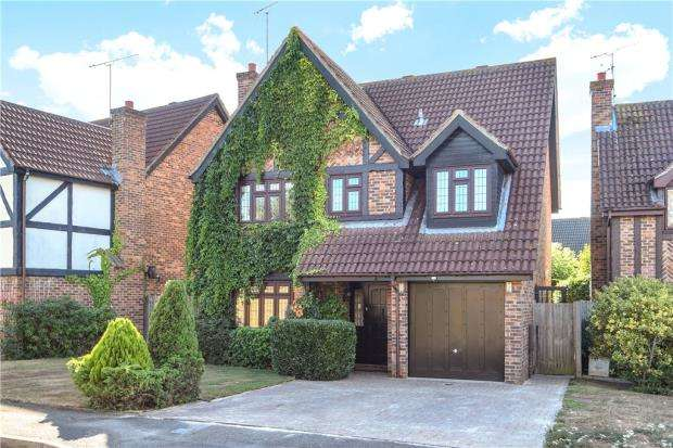 4 Bedrooms Detached House for sale in Tiptree Close, Lower Earley, Reading
