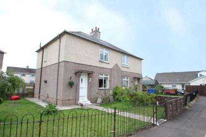 3 Bedrooms Semi Detached House for sale in Annick View, Irvine, North Ayrshire