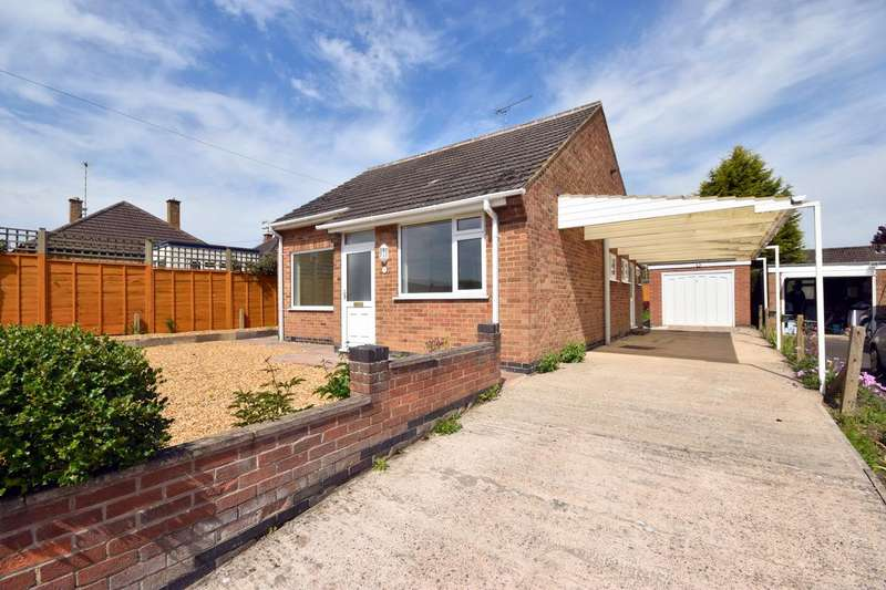 2 Bedrooms Detached Bungalow for sale in Meadow Close, Barrow Upon Soar, Loughborough