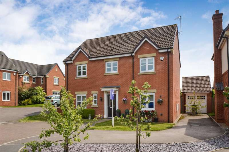 4 Bedrooms Detached House for sale in Perkins Close, Barrow Upon Soar, Loughborough