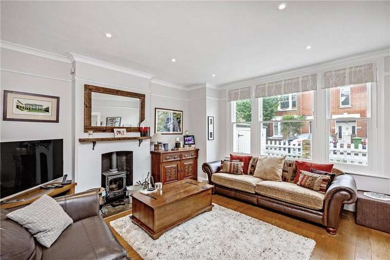 4 Bedrooms Semi Detached House for sale in Lyric Road, Barnes, SW13