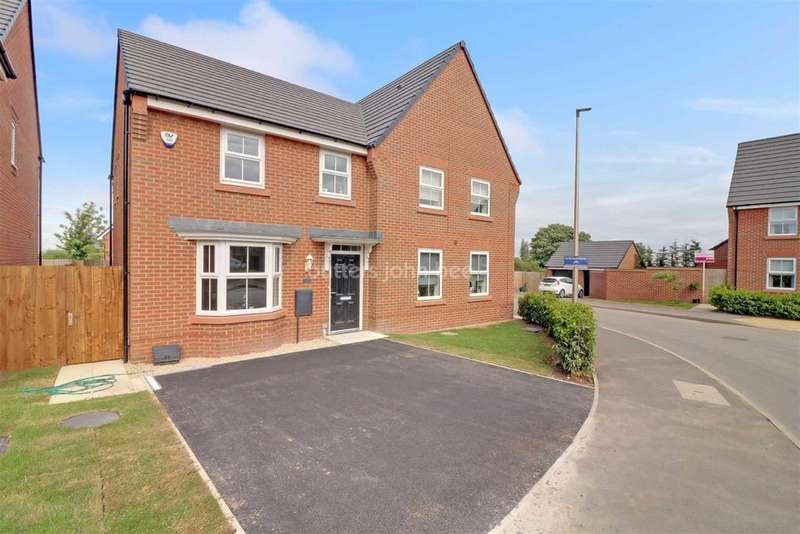 3 Bedrooms Semi Detached House for sale in Redwing Street, Winsford