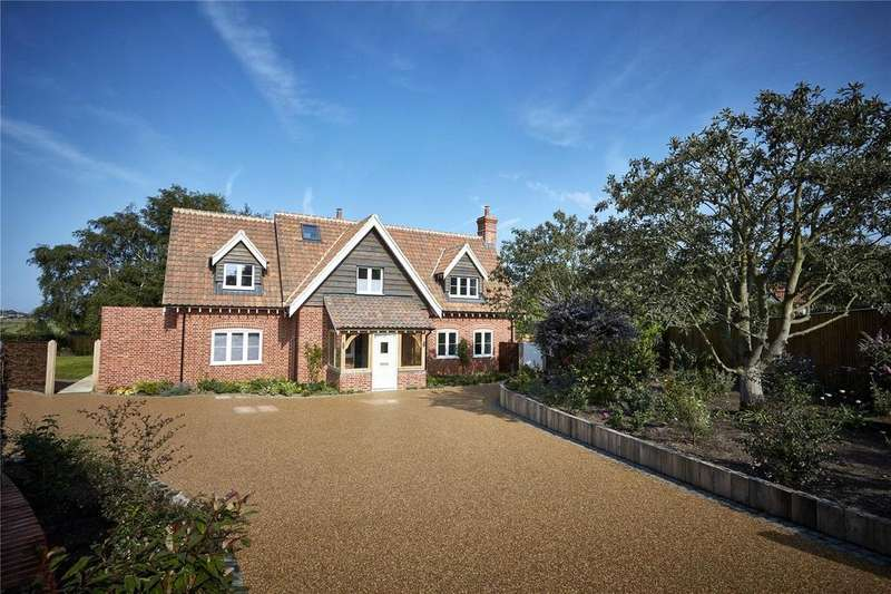 4 Bedrooms Detached House for sale in Whimbrels, Harbour View, Manor Close, Walberswick, IP18