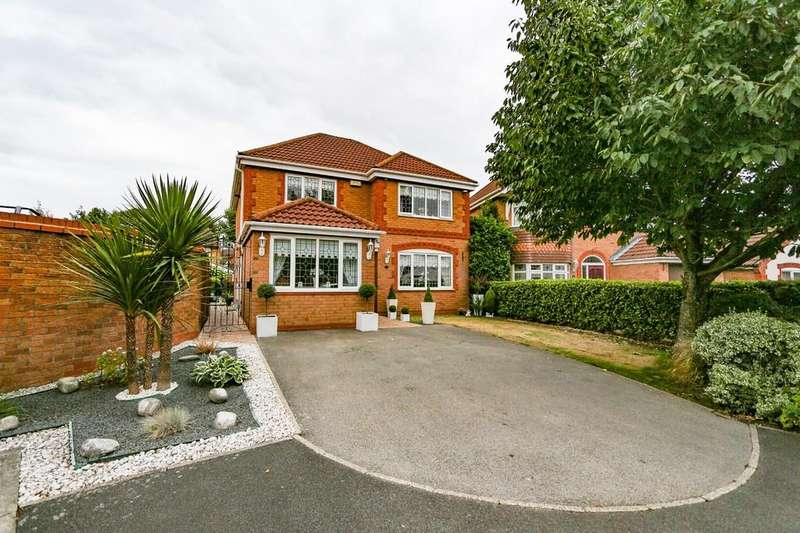 4 Bedrooms Detached House for sale in 28 Sunflower Meadow, Irlam