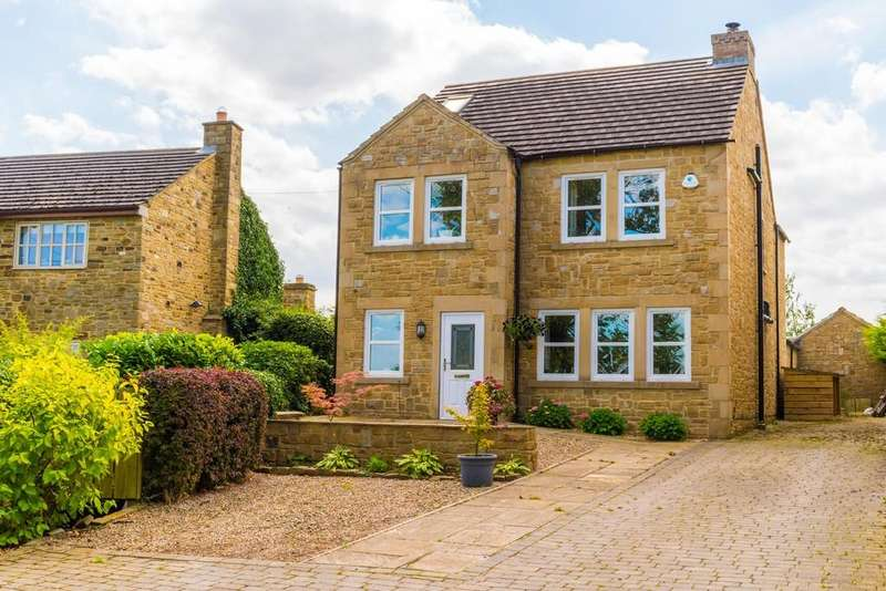 4 Bedrooms Detached House for sale in Hackforth, Bedale