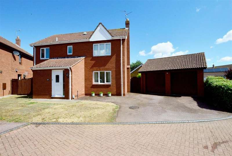 4 Bedrooms Detached House for sale in Abbotts Grove, Peterborough