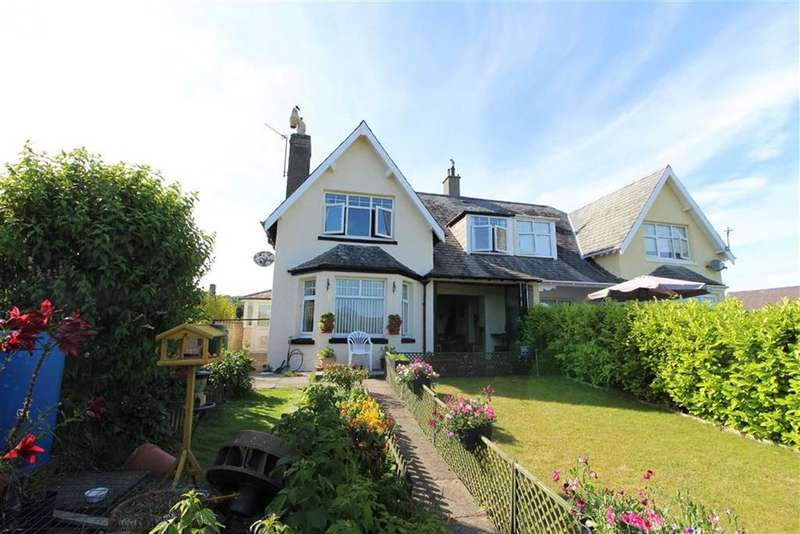 4 Bedrooms Semi Detached House for sale in Borth Y Gest