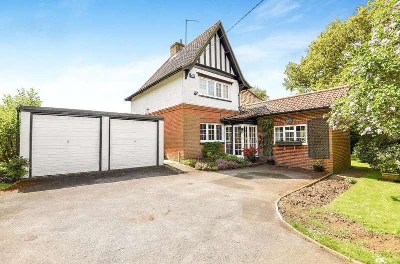 4 Bedrooms Detached House for sale in Pack Lane, Kempshott, Basingstoke, RG22