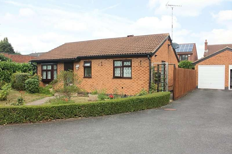 2 Bedrooms Detached Bungalow for sale in Winders Way, Aylestone, Leicester