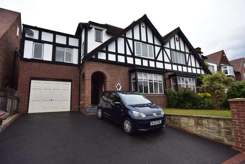 4 Bedrooms Semi Detached House for sale in Reid Park Road, Jesmond, Newcastle Upon Tyne