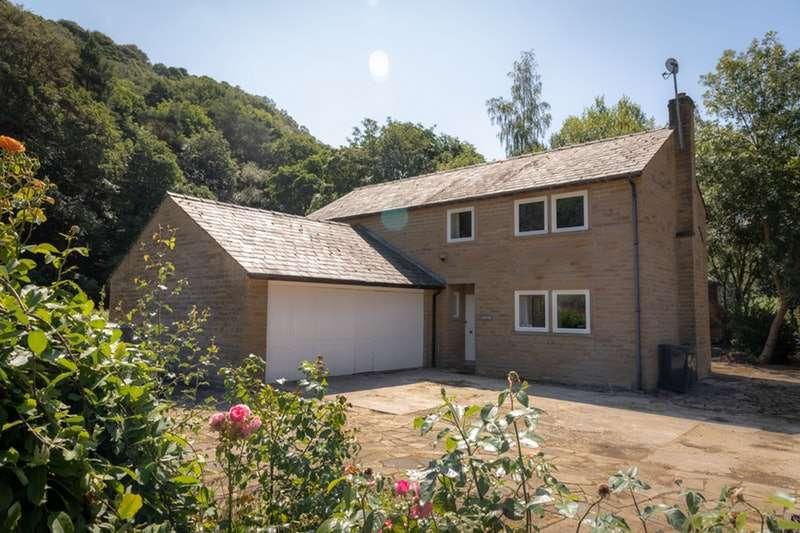 4 Bedrooms Detached House for sale in Lee Mill Road, Hebden Bridge, West Yorkshire, HX7