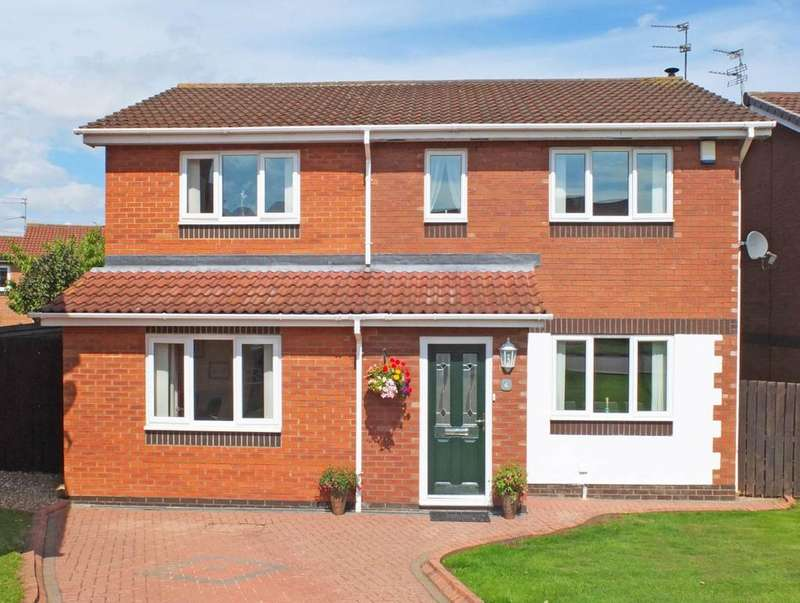 5 Bedrooms Detached House for sale in Thornbury Close, Boldon Colliery