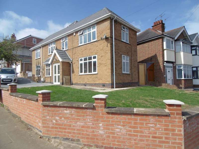 4 Bedrooms Detached House for sale in Highway Road, Leicester, Leicestershire