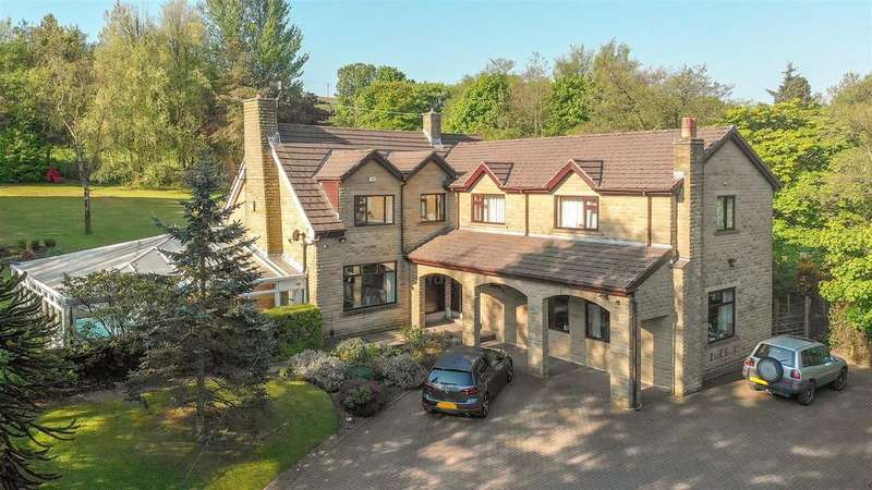 4 Bedrooms Detached House for sale in Park Crescent, Bacup, Rossendale