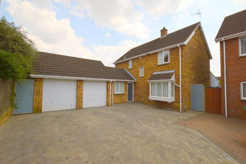 4 Bedrooms Detached House for sale in Willenhall Close, Barton Hills, Luton, LU3 3XX