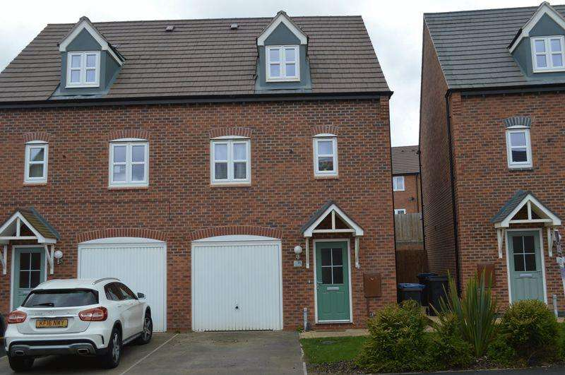 3 Bedrooms Semi Detached House for sale in Olympic Way, Hinckley