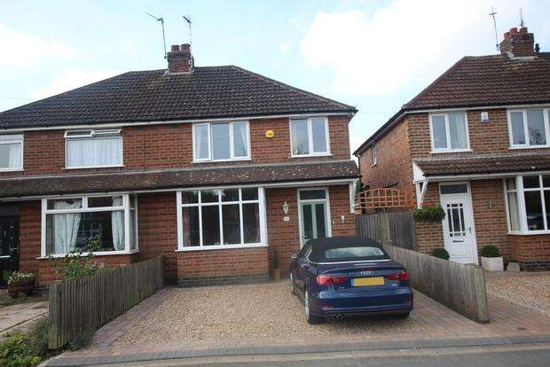 3 Bedrooms Semi Detached House for sale in Goodes Lane, Syston, Leicester, LE7