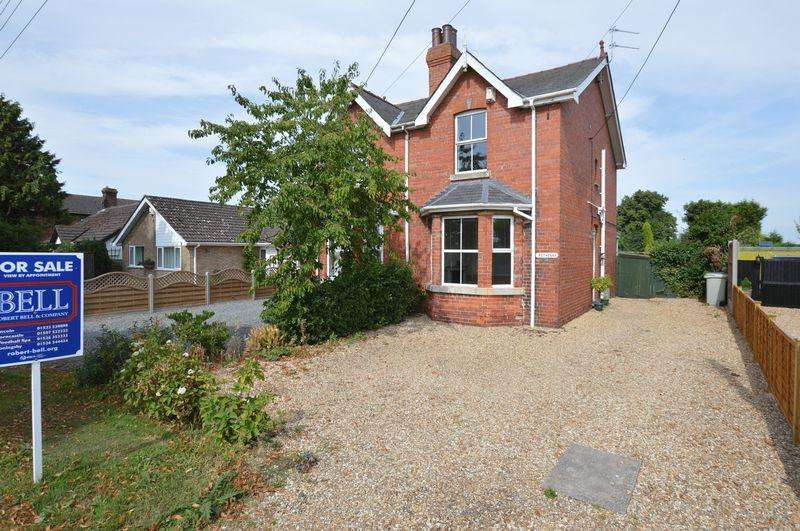 3 Bedrooms Semi Detached House for sale in Rothesay, 120 Witham Road, Woodhall Spa