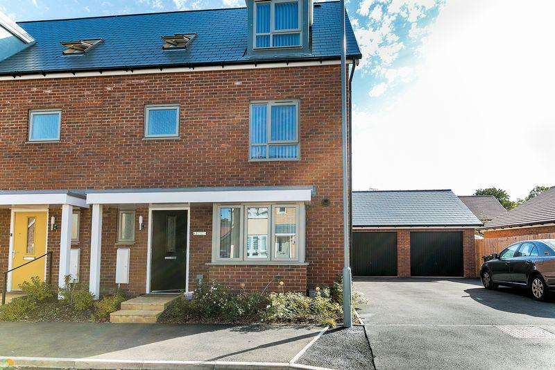 4 Bedrooms Semi Detached House for sale in Teeswater Way, Whitehouse, Milton Keynes