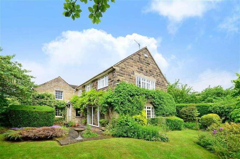 5 Bedrooms Detached House for sale in Beech Cottage, The Green, Curbar, Hope Valley, Derbyshire, S32