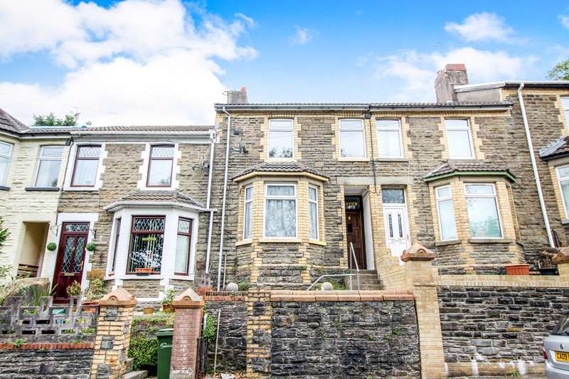3 Bedrooms Terraced House for sale in New Road, Argoed, Blackwood, NP12