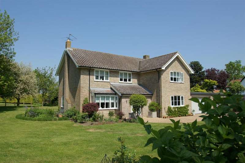 5 Bedrooms Detached House for sale in Pond End Lane, Market Weston, Diss