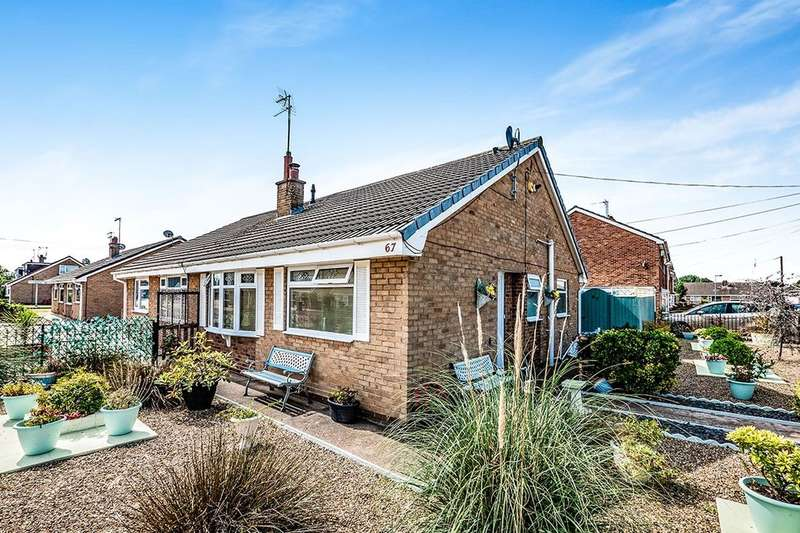 2 Bedrooms Semi Detached Bungalow for sale in Stanbury Road, Hull, HU6