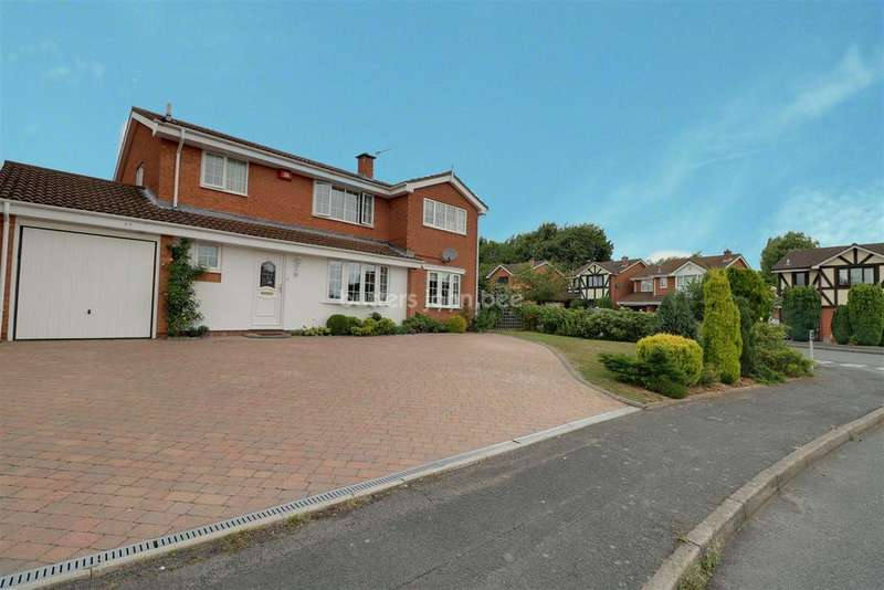 5 Bedrooms Detached House for sale in Grebe Close, Telford