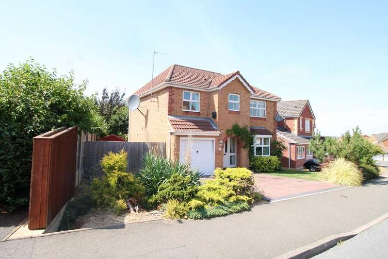 4 Bedrooms Detached House for sale in Ashley Way, Market Harborough