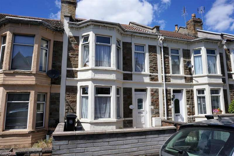 3 Bedrooms Terraced House for sale in Bloomfield Road, Brislington, Bristol
