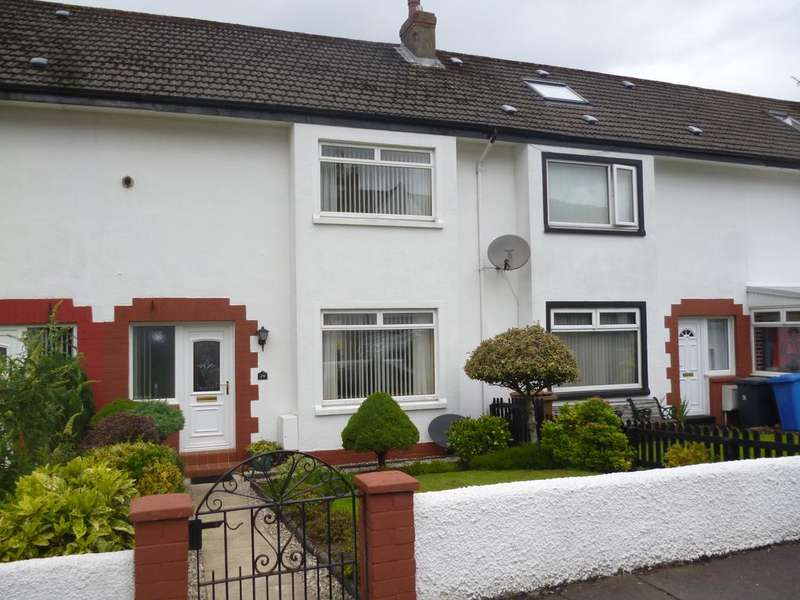 2 Bedrooms Terraced House for sale in 29 North Middleton Drive, LARGS, KA30 9JW