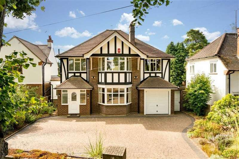 4 Bedrooms Detached House for sale in Marshals Drive, St Albans, Hertfordshire