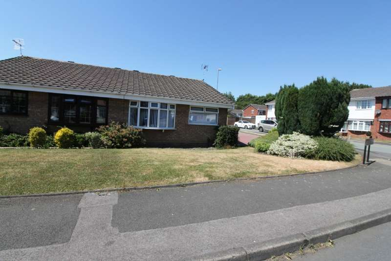 3 Bedrooms Semi Detached Bungalow for sale in Overdale Drive, Willenhall