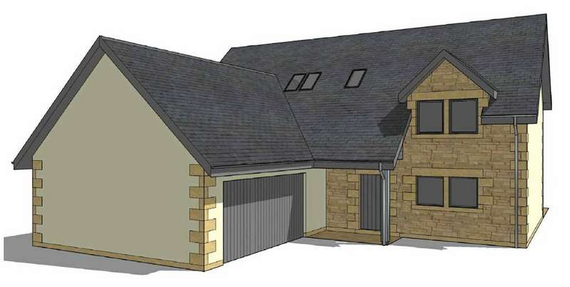 4 Bedrooms Detached House for sale in Birgham East, Scottish Borders