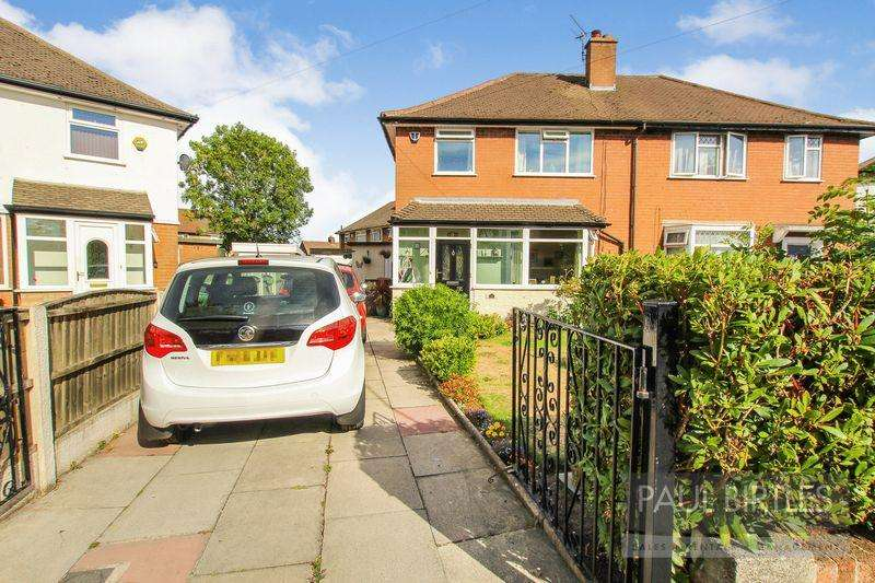 3 Bedrooms Semi Detached House for sale in Leyburn Avenue, Stretford, Manchester