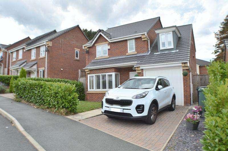 4 Bedrooms Detached House for sale in Viner Way, Godley, Hyde