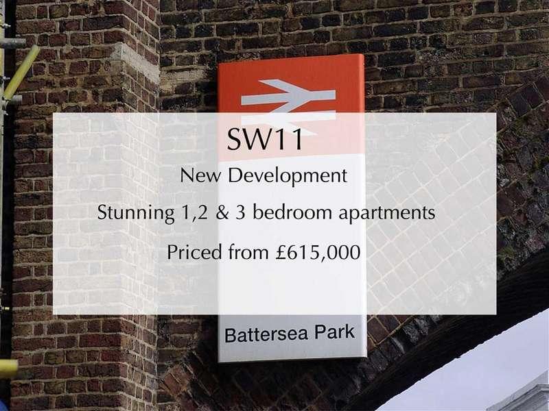 3 Bedrooms Apartment Flat for sale in Battersea Park Road, Battersea