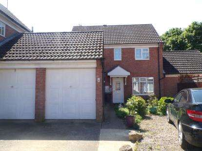 3 Bedrooms Detached House for sale in Denton Close, Kempston, Bedford, Bedfordshire