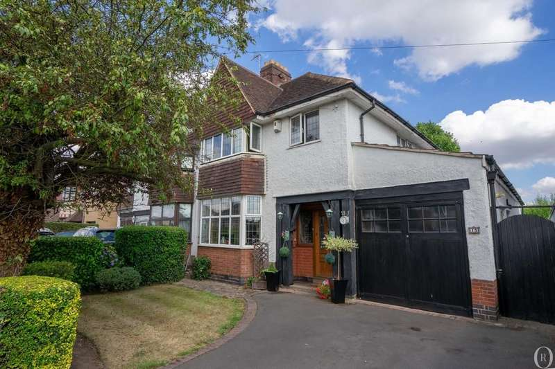 4 Bedrooms Semi Detached House for sale in Wakerley Road, Evington, Leicester