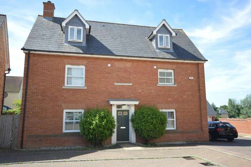 4 Bedrooms Detached House for sale in Rouse Way, Colchester