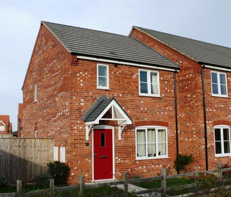3 Bedrooms Terraced House for sale in Plot47, The Feldspar, De Montfort Par...