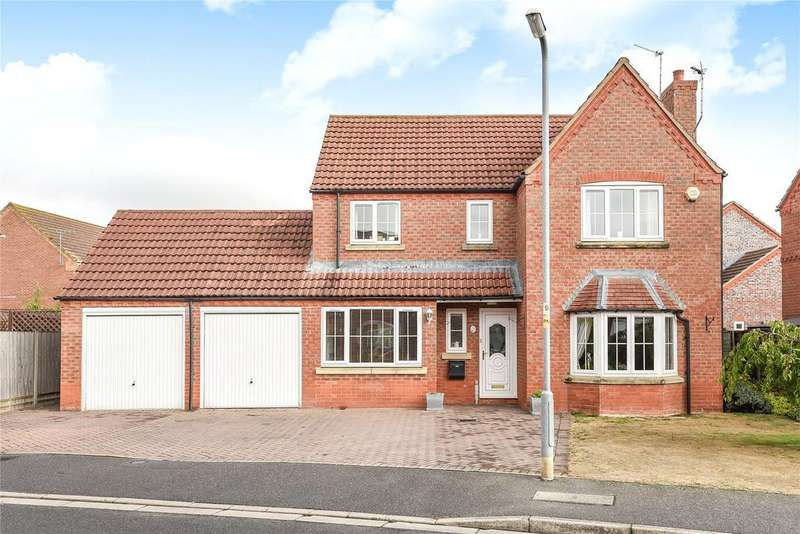 4 Bedrooms Detached House for sale in Winchelsea Road, Ruskington, NG34