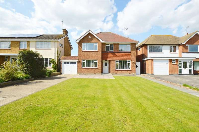 4 Bedrooms Detached House for sale in Southchurch Boulevard, Southend On Sea, Essex, SS2