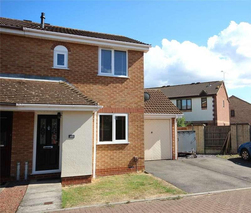 2 Bedrooms Semi Detached House for sale in Meadow Way, Bradley Stoke, Bristol, BS32