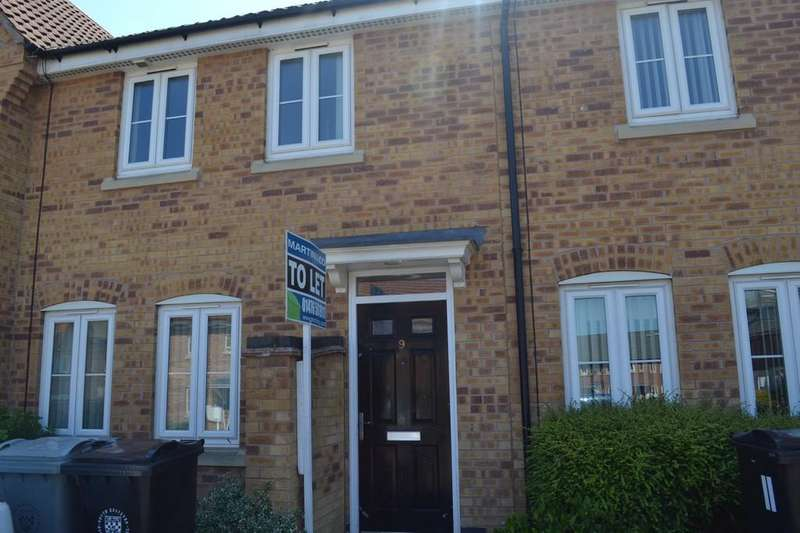 3 Bedrooms Terraced House for sale in Ormonde Close, Grantham