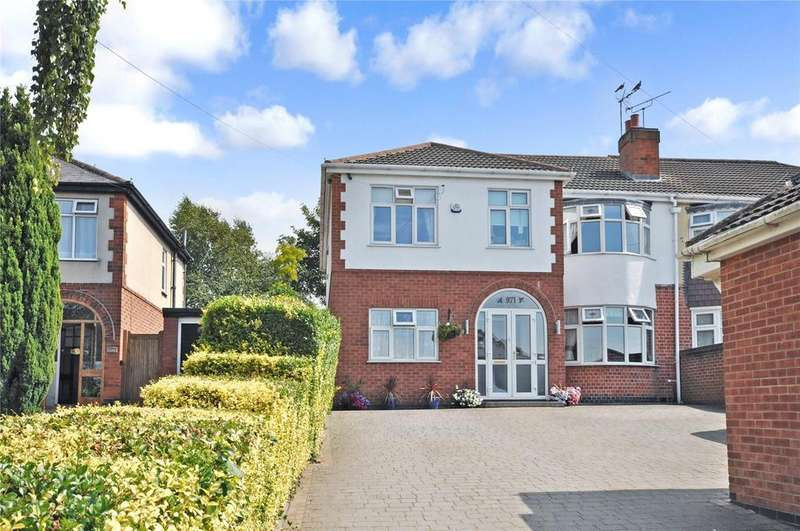 5 Bedrooms Semi Detached House for sale in Melton Road, Thurmaston, Leicestershire