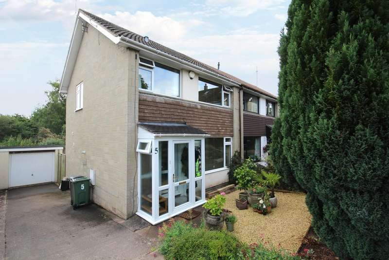3 Bedrooms Semi Detached House for sale in Russell Close, Winford