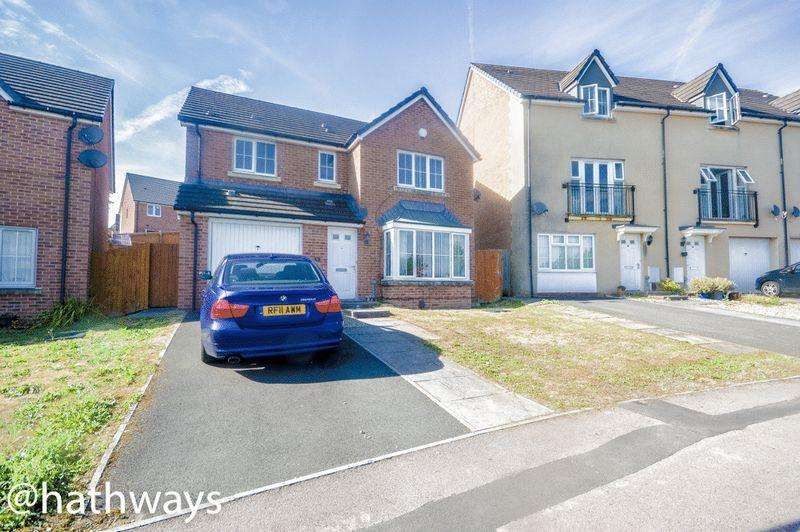 4 Bedrooms Detached House for sale in Alway Crescent, Newport